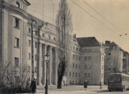 Trolleybusse Poznan,Dom Akademicki, Gelaufen - Bus & Autocars