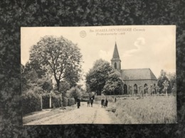 Sainte-Maria-Hoorebeke Sint-Marie-Horebeke - Protestantsche Kerk - Uitg. De Clippele - Van Wymeersch - Geanimeerd - Horebeke