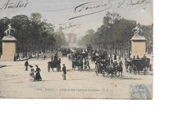 75 PARIS Cpa Avenue Des Champs Elysées 364 C.L.C - Arrondissement: 08