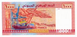 BANQUE NATIONALE DE DJIBOUTI // 1000 Francs // UNC - Dschibuti