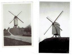 BRUGES - BRUGGE - 3 Kleine Foto's MOLENS - 11 X 6,5 ( 2 ) En 9 X 6,5 Cm - O.a St Jans Molen - Brugge