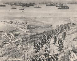 Image - Photo De La Guerre 1914-18 - L'armée DOrient - Débarquement à Lemnos - Old Paper