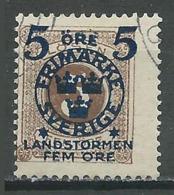 Suède YT N°89 Timbre-taxe Surchargé Oblitéré ° - Oblitérés