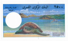 BANQUE CENTRALE DES COMORES // 2 500 Francs // UNC - Comore