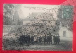 Saint Ferjeux -  Château Weil-Picard La Sortie De L'école Le 28 Novembre 1907 - Datée,signée Landriot - Besançon . - Autres Communes