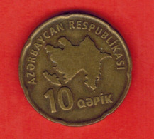 Azerbaijan 10 Qəpik, 2006 - Azerbaiyán
