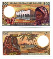 BANQUE CENTRALE DES COMORES // 500 Francs // UNC - Comores