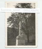 PHOTO Originale CROIX à La Sortie De LAUTENBACH LINTHAL Haut-Rhin. 1950/1960. Format 9x6 Cm - Lieux