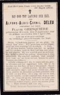 Wervicq, 1905, Alfons Deleu, Ghesquière - Andachtsbilder