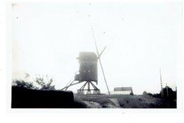 GHEEL - ZAMMEL Kleine Foto 9 X 6 Cm - Houten Molen - Geel