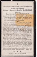 Wervik, Wervicq, 1917, Assche, Asse, Marcel Lahousse, Marescaux - Imágenes Religiosas