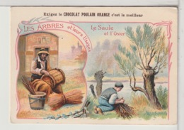 CHROMOS - Les Arbres Et Leurs Usages - CHOCOLAT POULAIN ORANGE - Poulain