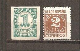 España/Spain-(MH/*) - Edifil  914-15 - Yvert  653-54 - 1931-50 Neufs