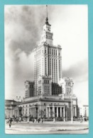 WARSZAWA PALAC KULTURI I NAUKI 1959 - Poland