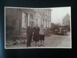 AUTO MERK RENAULT IN PASTOOR SCHMIDT TE O. D. BELGIË ? Voiture Garée Devant Une Maison Localisée Par Son Adresse En 1928 - Cartes Postales