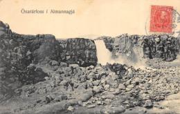 CPA ISLANDE ICELAND OXARARFOSS I ALMANNAGJA - Islande