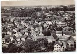 Imling. Vue Aerienne.  Haut Du Village.  Au Loin Sarrebourg.   Edit Cim - Autres Communes