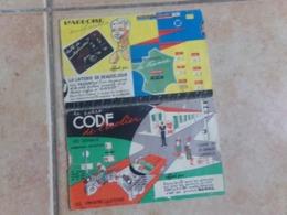 Lot 2 Carte A Système Laiterie Beausejour Sanal Code De L écolier L Ardoise Enchantée - Publicités