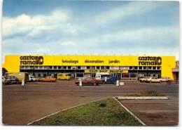 Noyelles Godault  Magasin Castorama. Ecrite Par Le Service Client 1981. Peugeot J9 Publicitaire Castorama - France