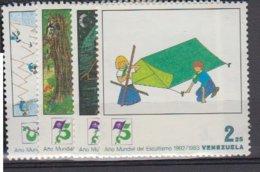VENEZUELA      1983          N°    1144 / 1147      COTE          5 € 50           ( W 206 ) - Venezuela