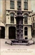 MONS - Fontaine Du Marché Aux Poulets Oblitération De 1921 - Mons