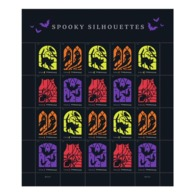 USA Stamps 2019.Spooky Silhouettes. Full Sheet (20 Stamps) - Vereinigte Staaten