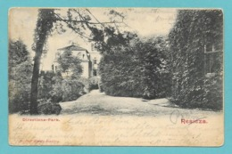RESICZA DIRECTIONS-PARK 1919 WITH STEMPEL HUNGRY - Romania