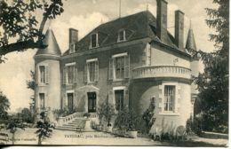 N°75742 -cpa Faydeau Près Montmorillon (86) - Castillos