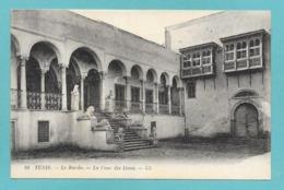 TUNIS LE BARDO LA COUR DES LIONS - Tunisia
