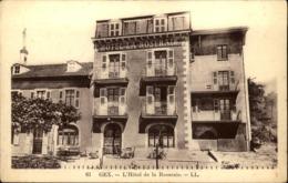 01  GEX  Hotel De La Roseraie - Gex