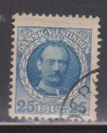 DANISH WEST INDIES Scott # 47 Used - Denmark (West Indies)