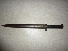 Baionnette Mauser Vz24  Péru Bayonet Vz 24 Peru  M1935 - Armes Blanches