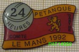 24 HEURES DE PETANQUE LE MANS 1992 - Pétanque