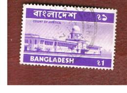 BANGLADESH  -  SG 49  -  1974  COURT OF JUSTICE  (38X25)         - USED  ° - Bangladesh