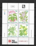 1991 MNH Marshal Mi 357-60, Postfris ** - Pflanzen Und Botanik