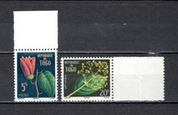 TOGO N° 276 + 277  NEUFS SANS CHARNIERE COTE  2.00€  FLEUR - Togo (1960-...)