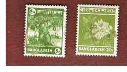 BANGLADESH  -  SG 64.66  -  1976 PLANTS   (18X23)         - USED  ° - Bangladesh
