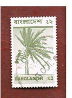 BANGLADESH  -  SG 73  -  1976 DATE TREE   (20X32)         - USED  ° - Bangladesh