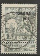 "Caritas ""Montald"" Surchargé, COB 100 - 1910-1911 Caritas"