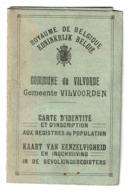 Carte D'identité VILVOORDEEN / Vilvorde - Léonie VANDENBUSSCHE - 1920 - 2 Scans - Vieux Papiers
