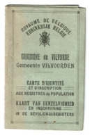 Carte D'identité VILVOORDEEN / Vilvorde - Léonie VANDENBUSSCHE - 1920 - 2 Scans - Sin Clasificación