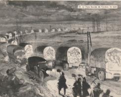 Image - Photo De La Guerre 1914-18 - La Voie Sacrée De Verdun, La Nuit - Alte Papiere