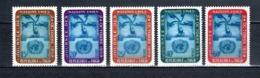 TOGO N° 295 à 299   NEUFS SANS CHARNIERE COTE  4.00€  NATIONS UNIES - Togo (1960-...)