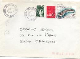 Chateauroux St-Denis GA Indre 2006 - Guichet Annexe - Marcophilie (Lettres)
