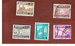BANGLADESH  -  SG 125.136  -  1978  VIEWS       - USED  ° - Bangladesh