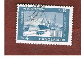 BANGLADESH  -  SG 318a  -  1992  CHITTAGONG PORT      - USED  ° - Bangladesh