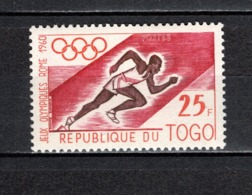 TOGO N° 306   NEUF SANS CHARNIERE COTE  1.40€  JEUX OLYMPIQUES ROME - Togo (1960-...)