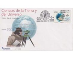 Ref. 542298 * MNH * - SPAIN. 2008. SCIENCE OF THE EARTH AND THE UNVERSE . CIENCIAS DE LA TIERRA Y DEL UNIVERSO - 2001-10 Covers