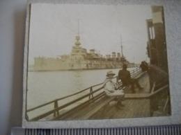 Lorient . Photo Stéreoscopique D' Un Bateau  .  De 1920 . Péniche . 2 Photos - Stereoscopio