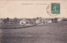 Cpa MASLEON VUE D ENSEMBLE 1923 - France